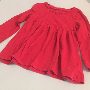3T BabyGap red tunic